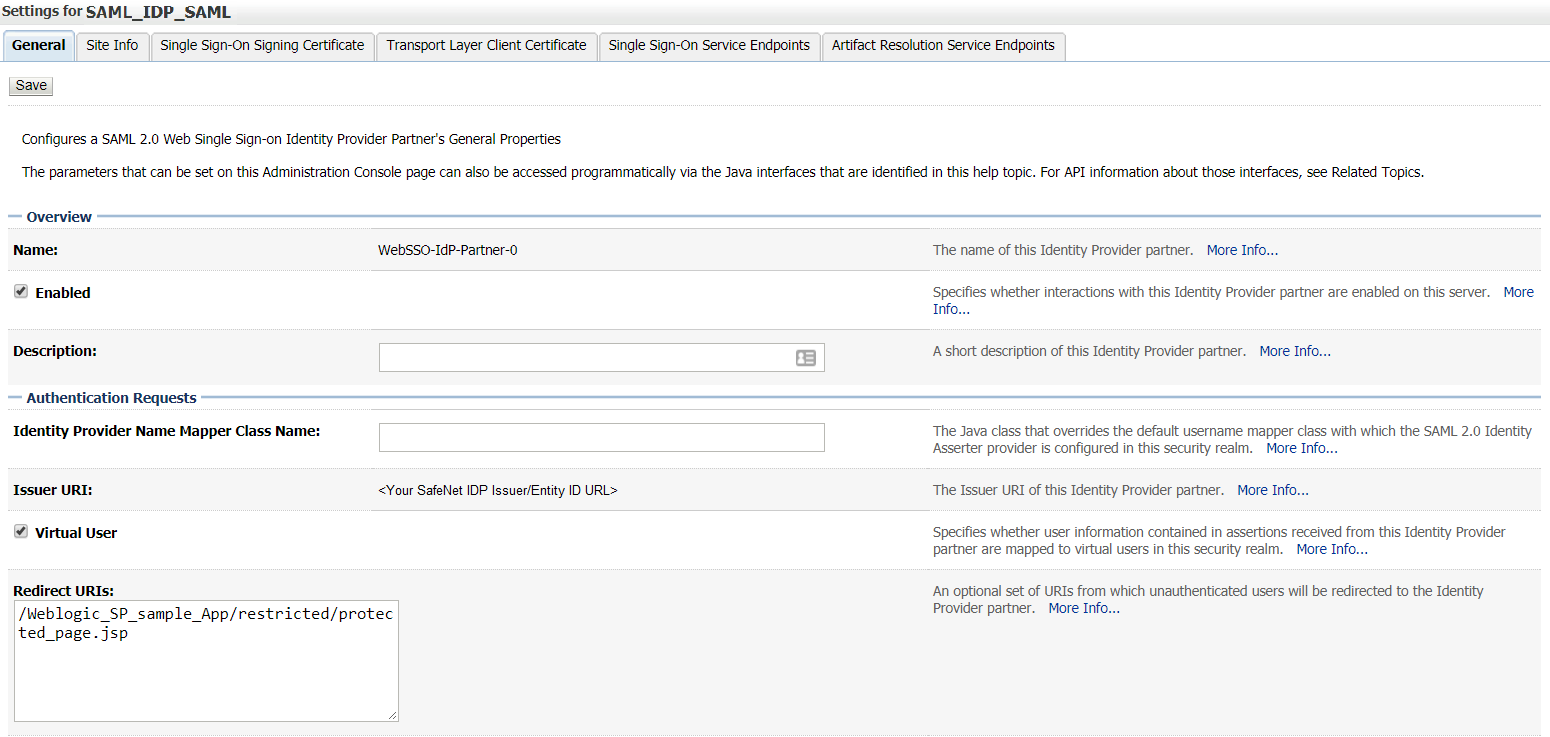 Oracle WebLogic Server Help