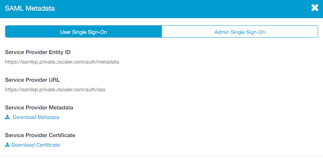 Zscaler Private Access (for Users) Help